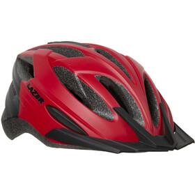 Lazer Vandal Cykelhjelm rød